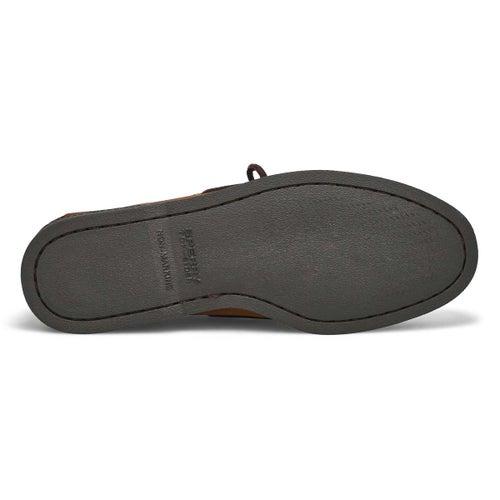 Mns A/O 2 eye brown boat shoe
