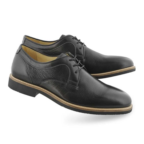 Mns Barlow Plain Toe black dress oxford