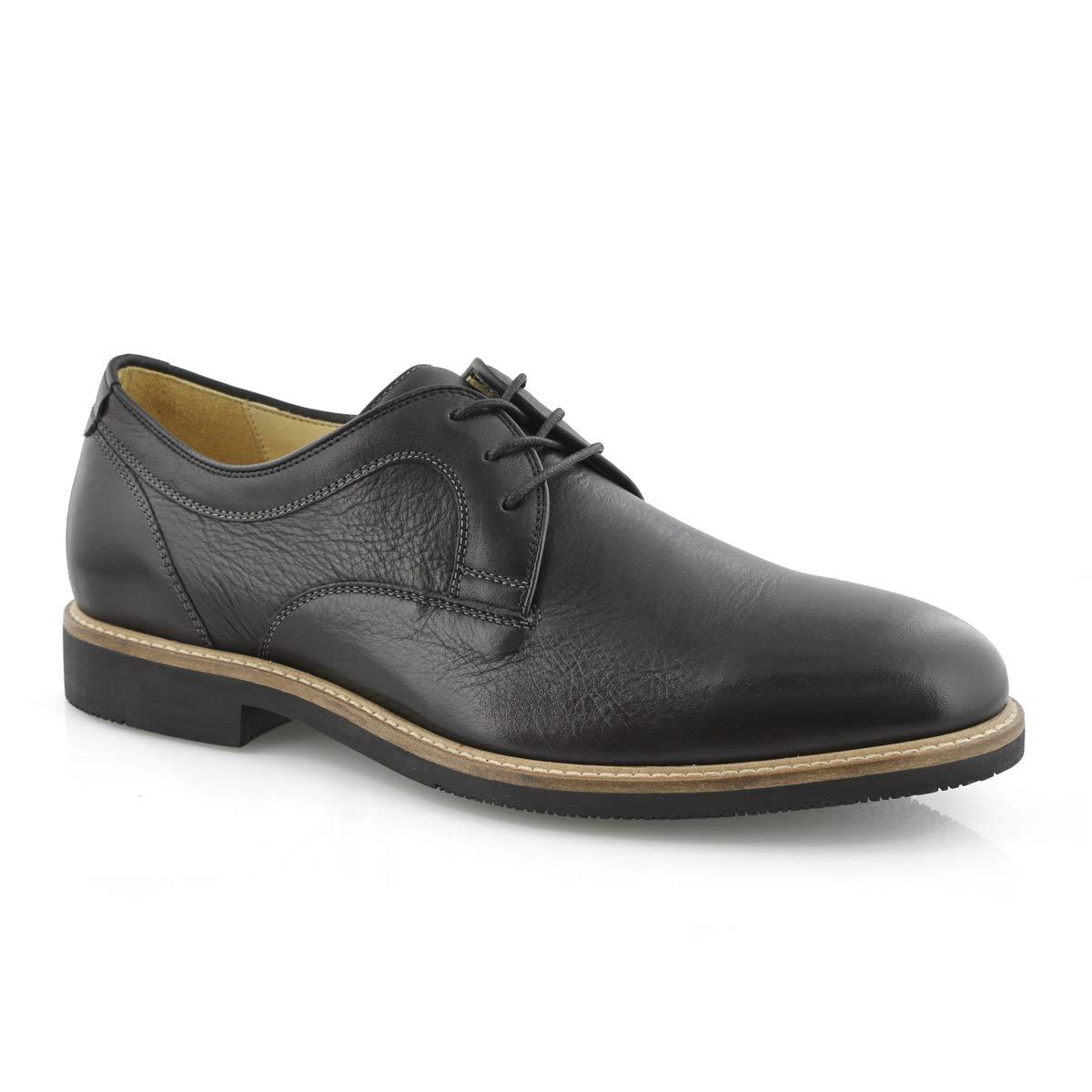 Men's BARLOW PLAIN TOE black dress oxfords