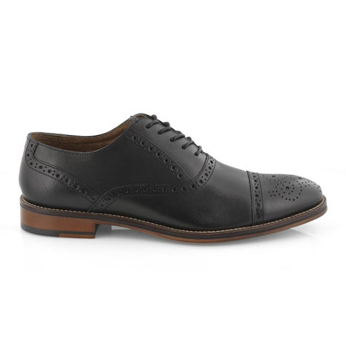 Mns Conard Cap Toe black dress oxford