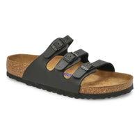 Sandales en Birko-Flor FLORIDA, noir, femmes