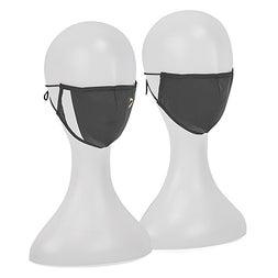 UnisexPuma Black-unity face mask 2 pak