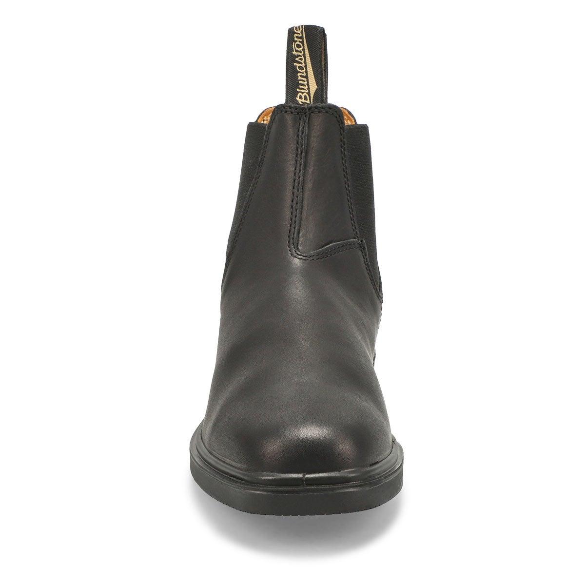 Unisex Chistel Toe Boot - Black