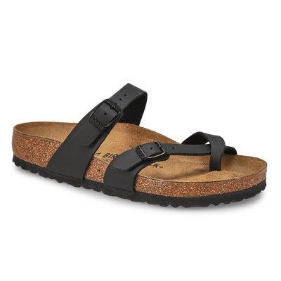 Sandale à passe-orteil Mayari, noir, fem