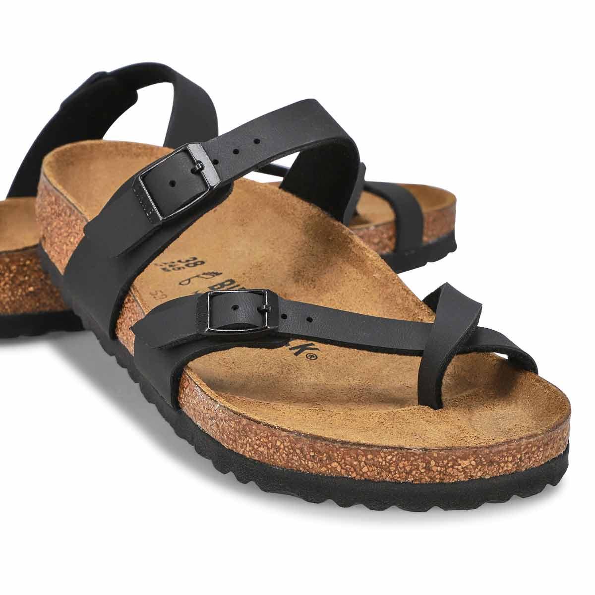 Sandales à passe-orteil MAYARI, noir, femmes