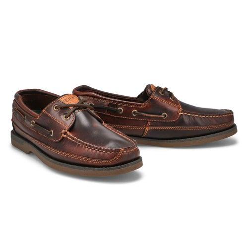 Mns Mako 2-eye amaretto boat shoe