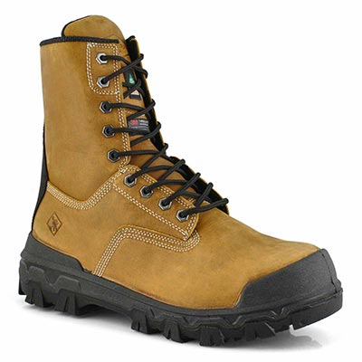 Mns Sentry 8 wheat lace up CSA boot