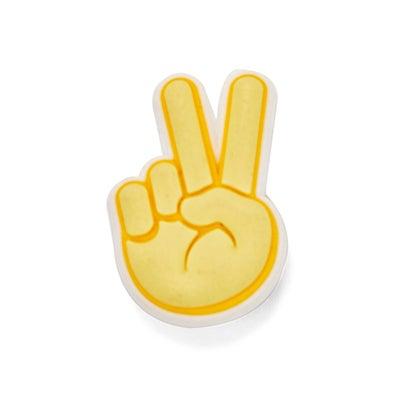 Jibbitz Peace Hand Sign