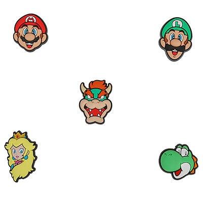 Jibbitz Super Mario 5 Pack