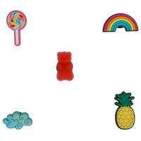 Jibbitz Accessories Jibbitz Happy Candy 5 Pack