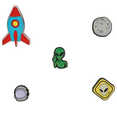 Jibbitz Outer Space 5 Pack