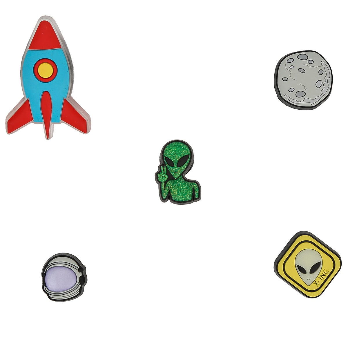 Jibbitz Outer Space - 5 pack