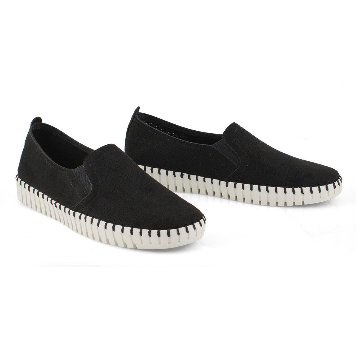 Women's SEPULVEDA BLVD black slip on sneakers