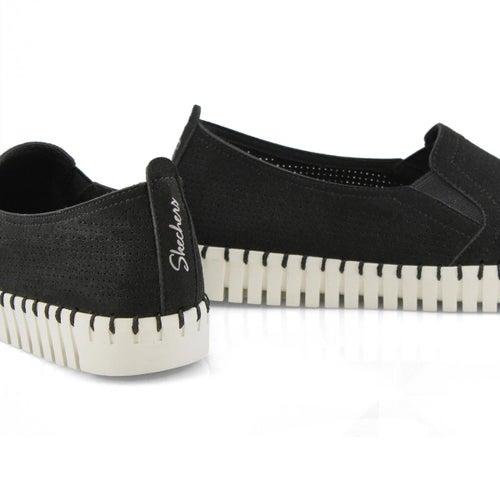 Lds Sepulveda Blvd black slip on sneaker