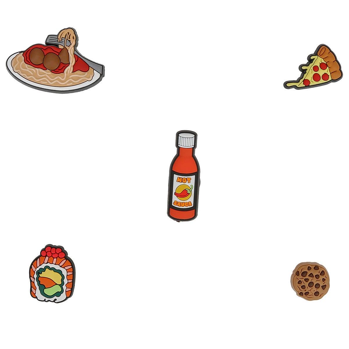 Jibbitz Accessories Jibbitz Food Please 5 Pack