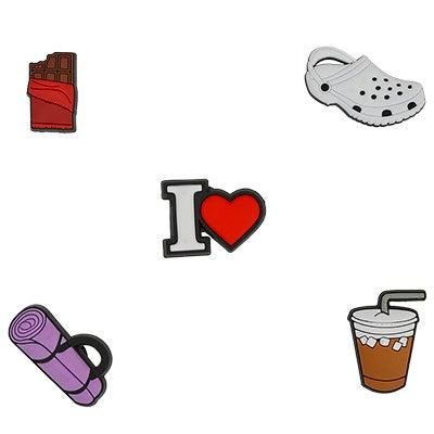 Jibbitz I Heart 5 Pack