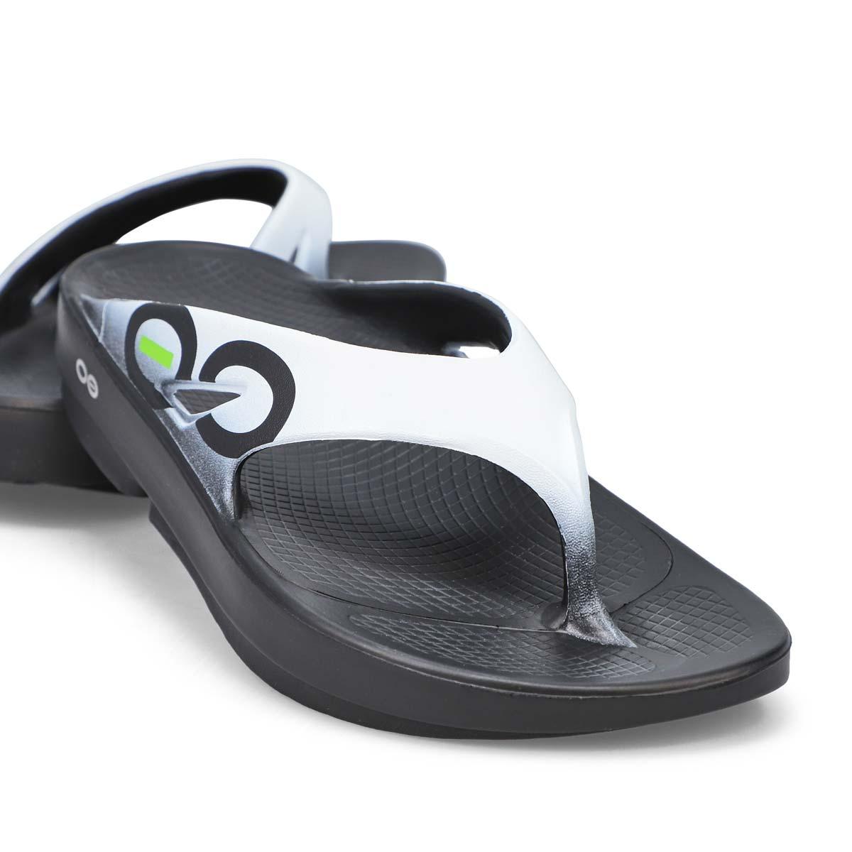 Men's Ooriginal Sport Sandal - Black/White