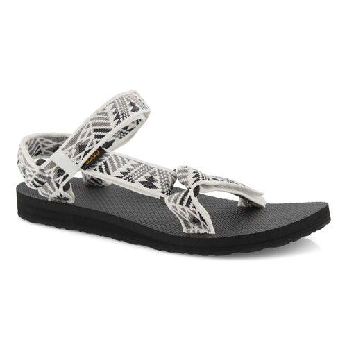 Lds Orig Universal wht/grey sport sandal