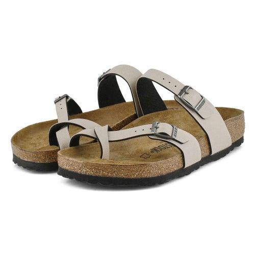 Lds Mayari stone BF toe sleeve thong