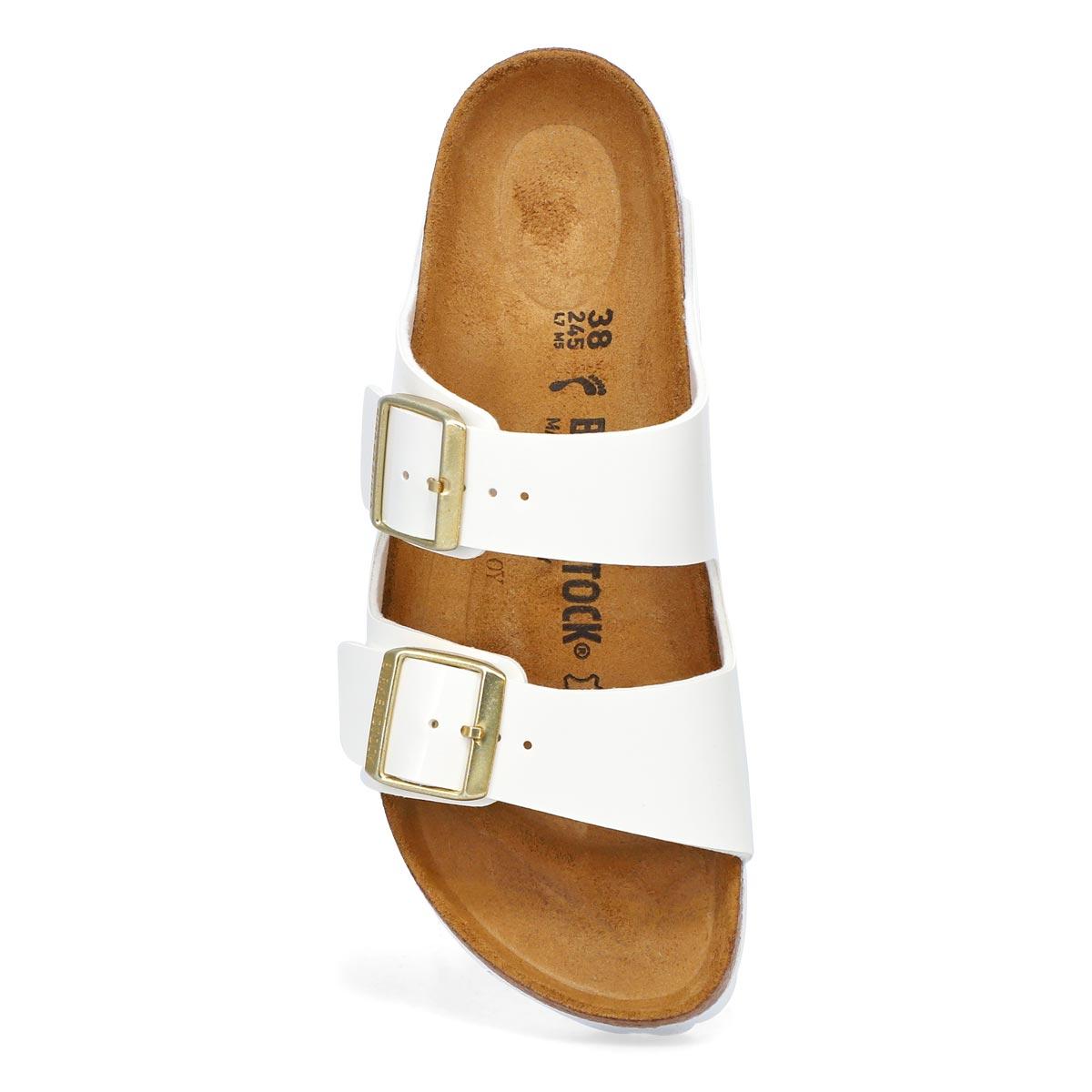 Women's Arizona BF Narrow Sandal - White Patent