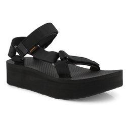 Lds Flatform Universal black casual sndl