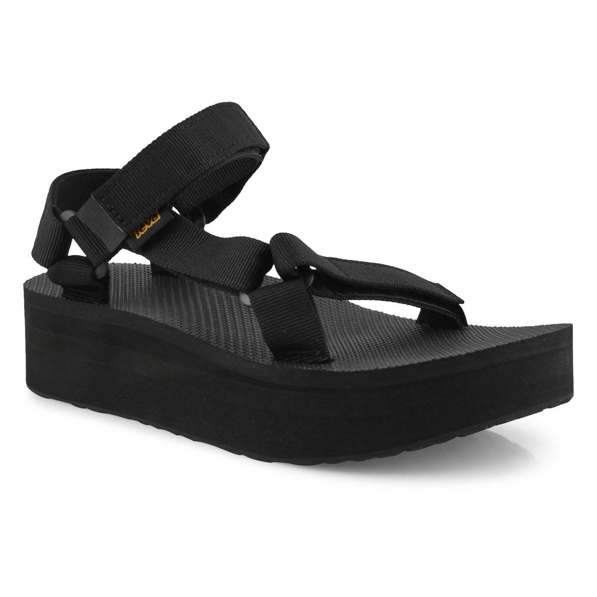 Women's Flatform Universal Sandal - Black