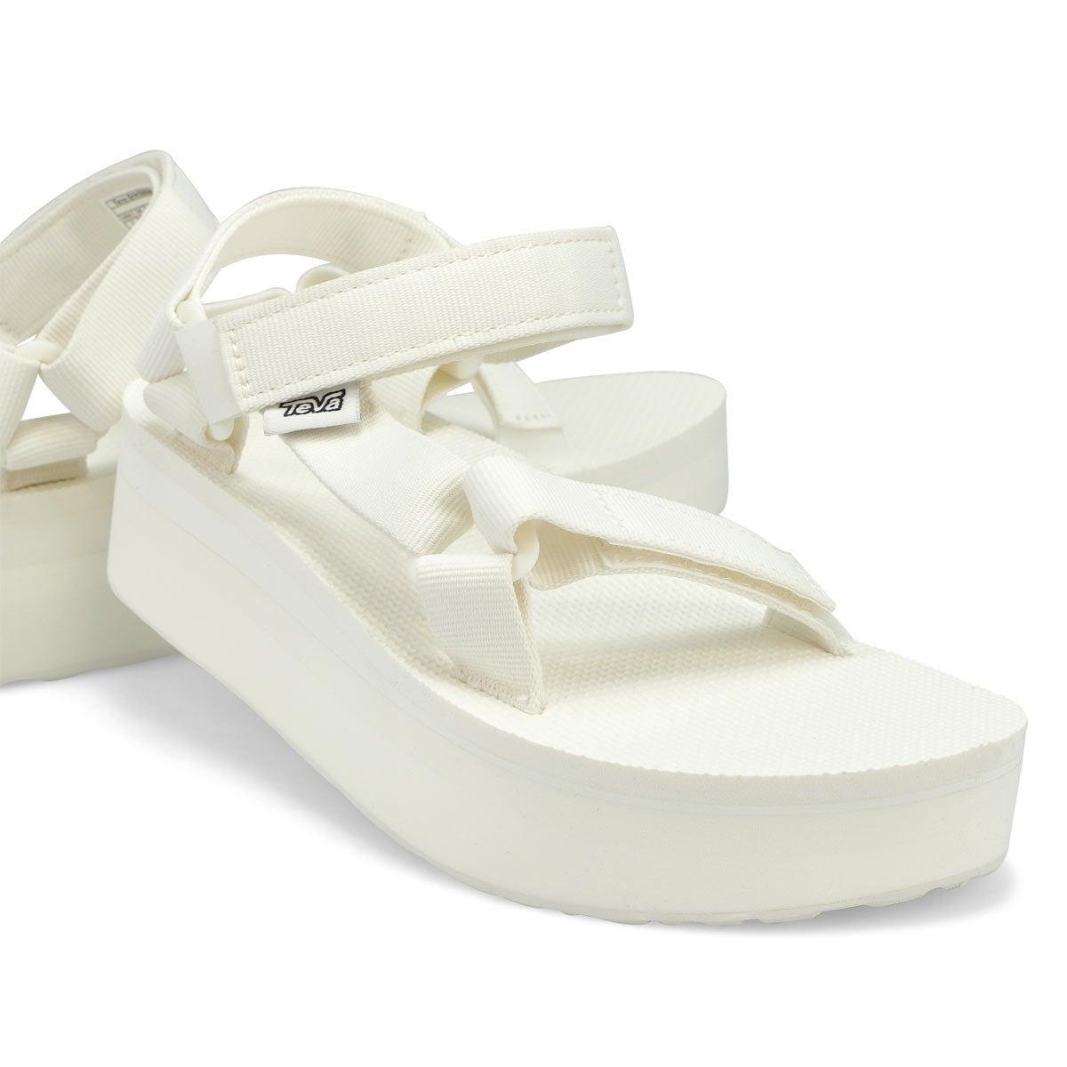 Women's Flatform Universal Sandal - Bright White