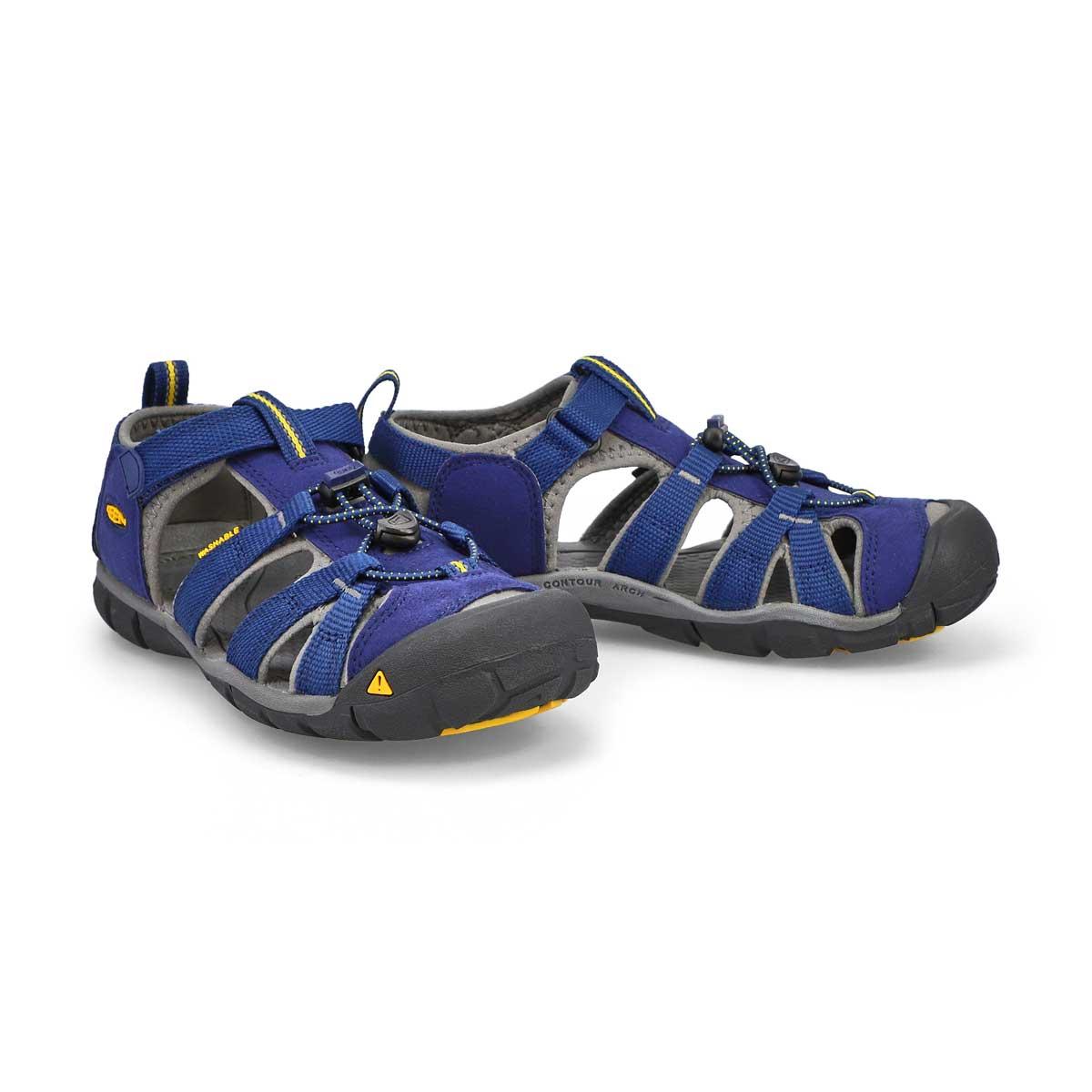 Boys' Seacamp II CNX Sport Sandal - Blue/Grgoyl