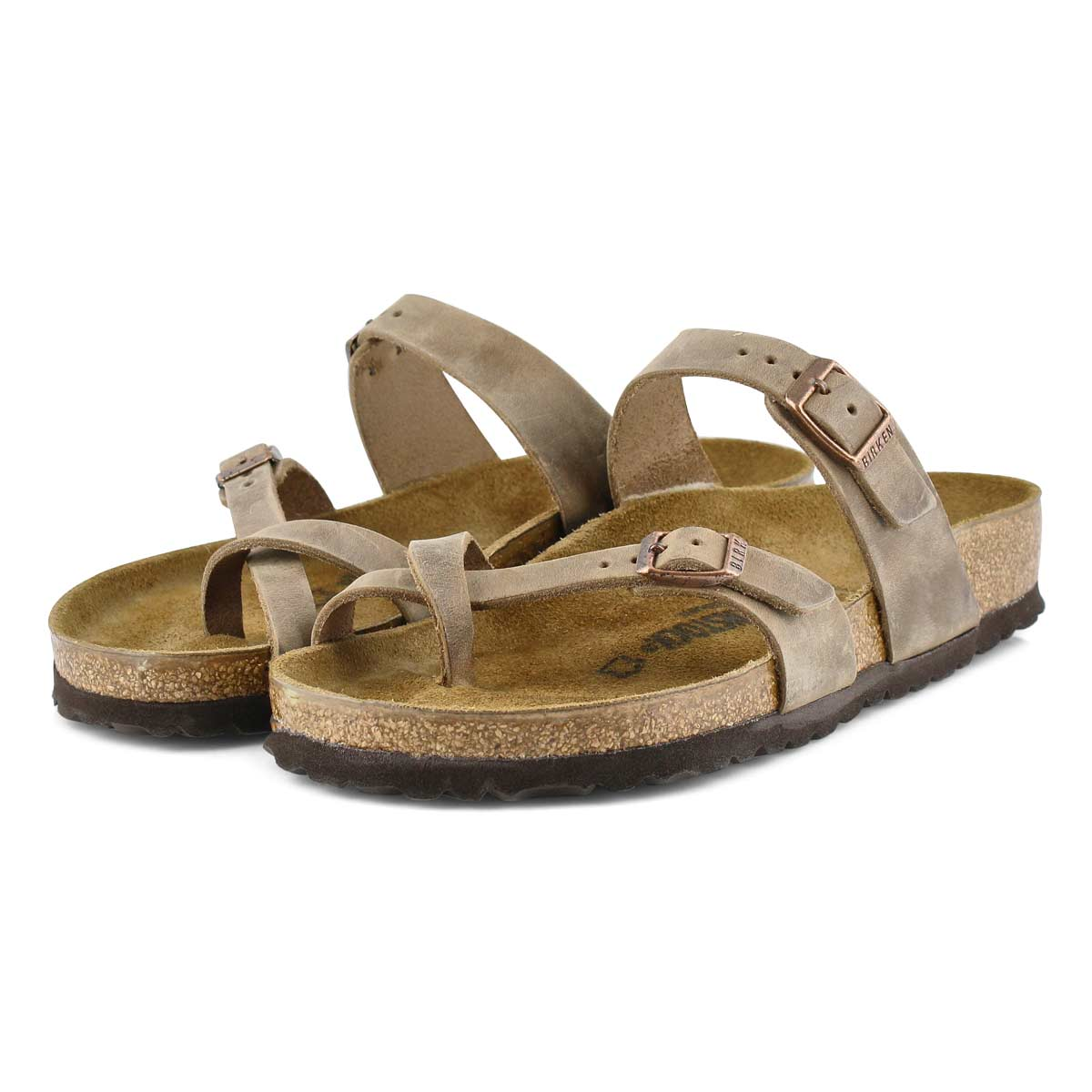 Sandale passe-orteil MAYARI, tabac femme