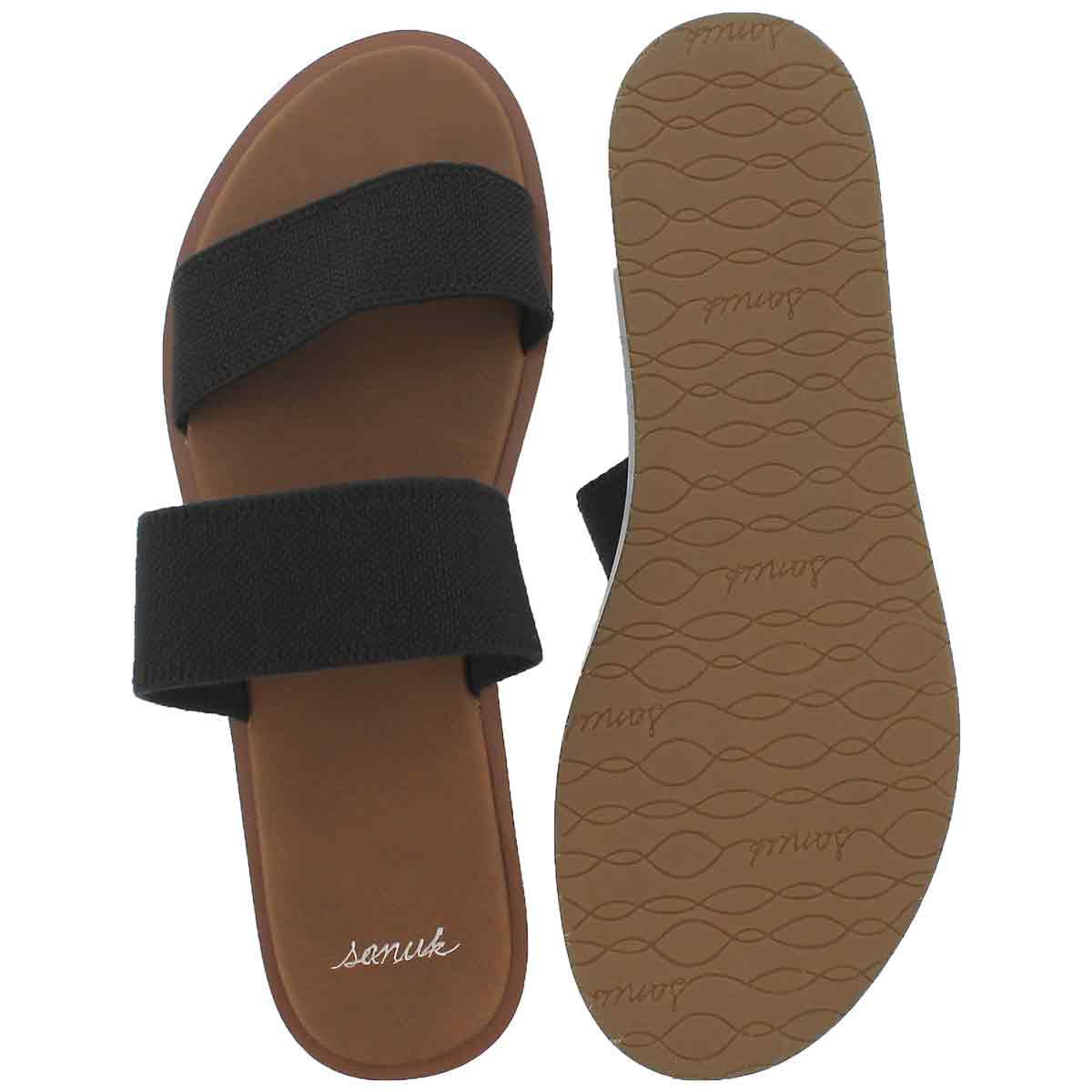 Sandales YOGA GORA GORA, noir, femmes