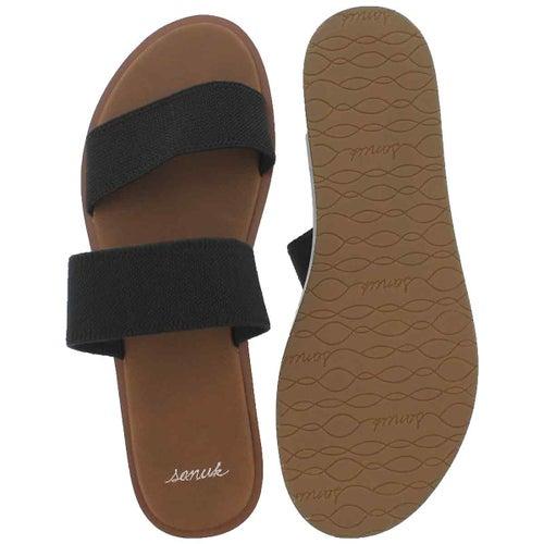 Lds Yoga Gora Gora black slide sandal