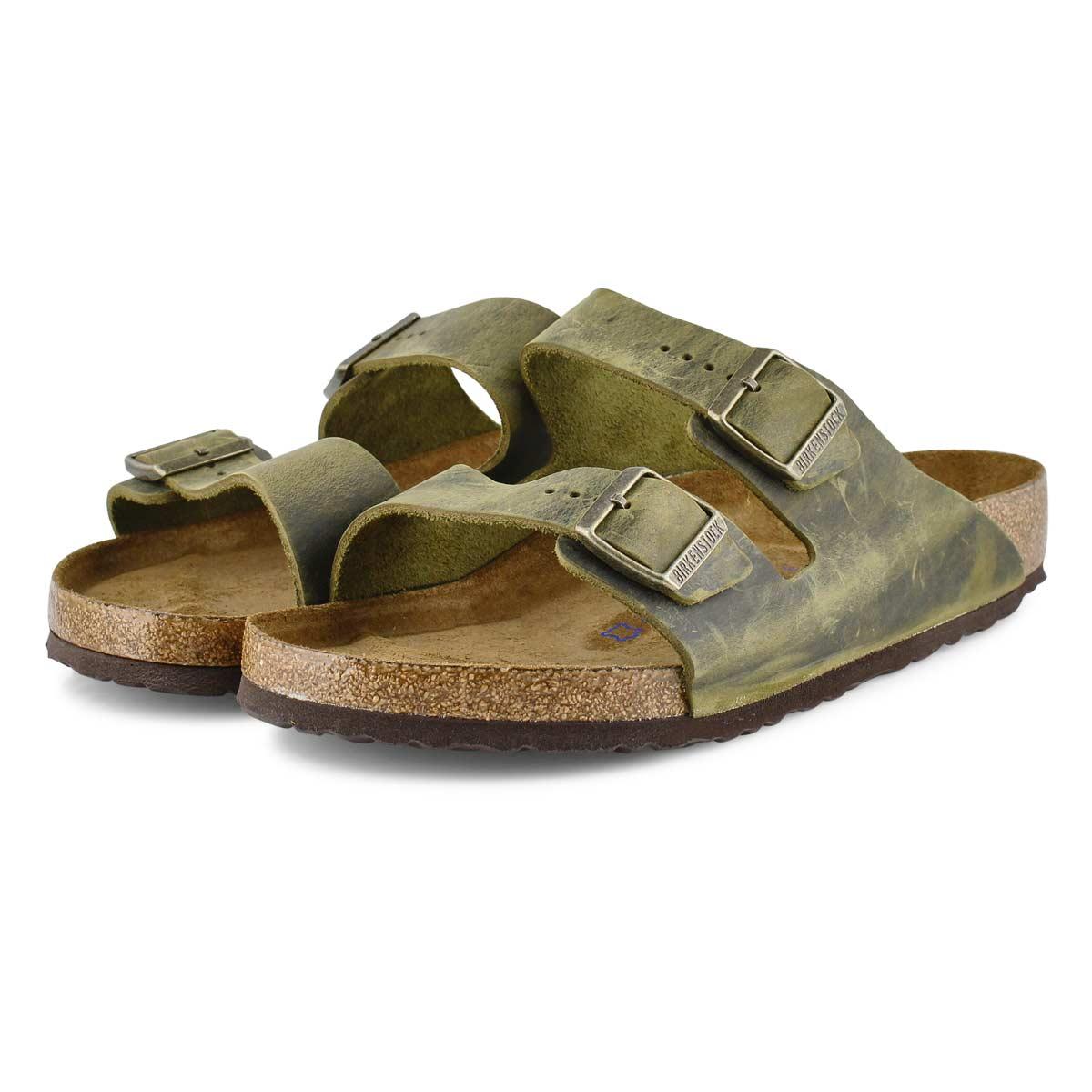 Sandales 2brides ARIZONA SF, jade, hommes