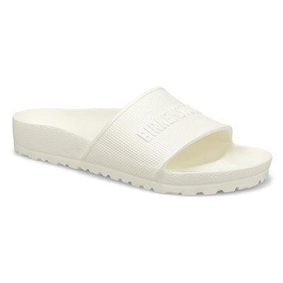 Lds Barbados EVA white slide sndl