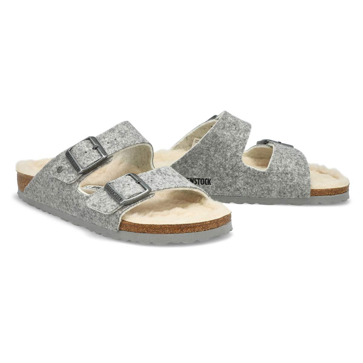 Sandale ARIZONA, gris pâle, femme - Étroite