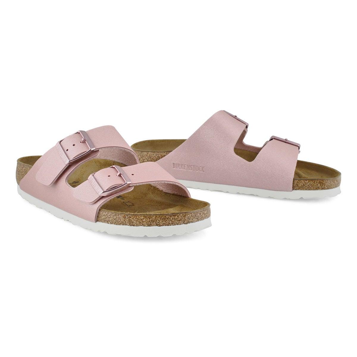Women's Arizona BF Narrown Sandal - Metallic Rose