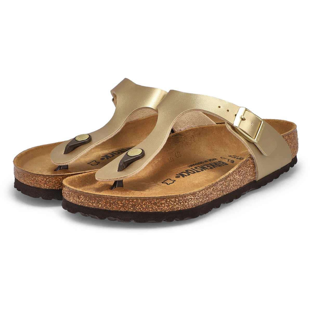 Women's Gizeh BF Thong Sandal - Gold