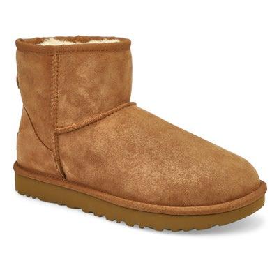 Women's CLASSIC MINI II chestnut boots