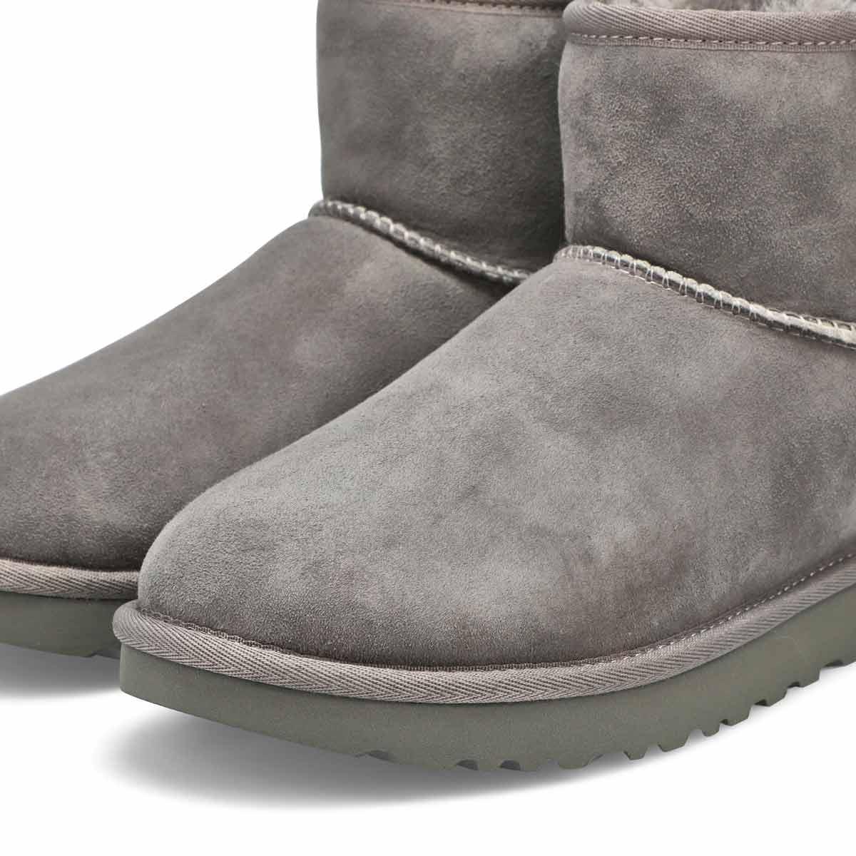 Bottes CLASSIC MINI II, gris, femmes