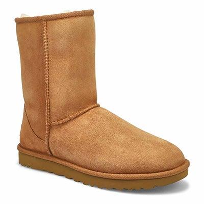 Women's CLASSIC SHORT II chestnut sheepskin boots
