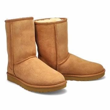 Women's Classic Short II Sheepskin Boot - Chestnut
