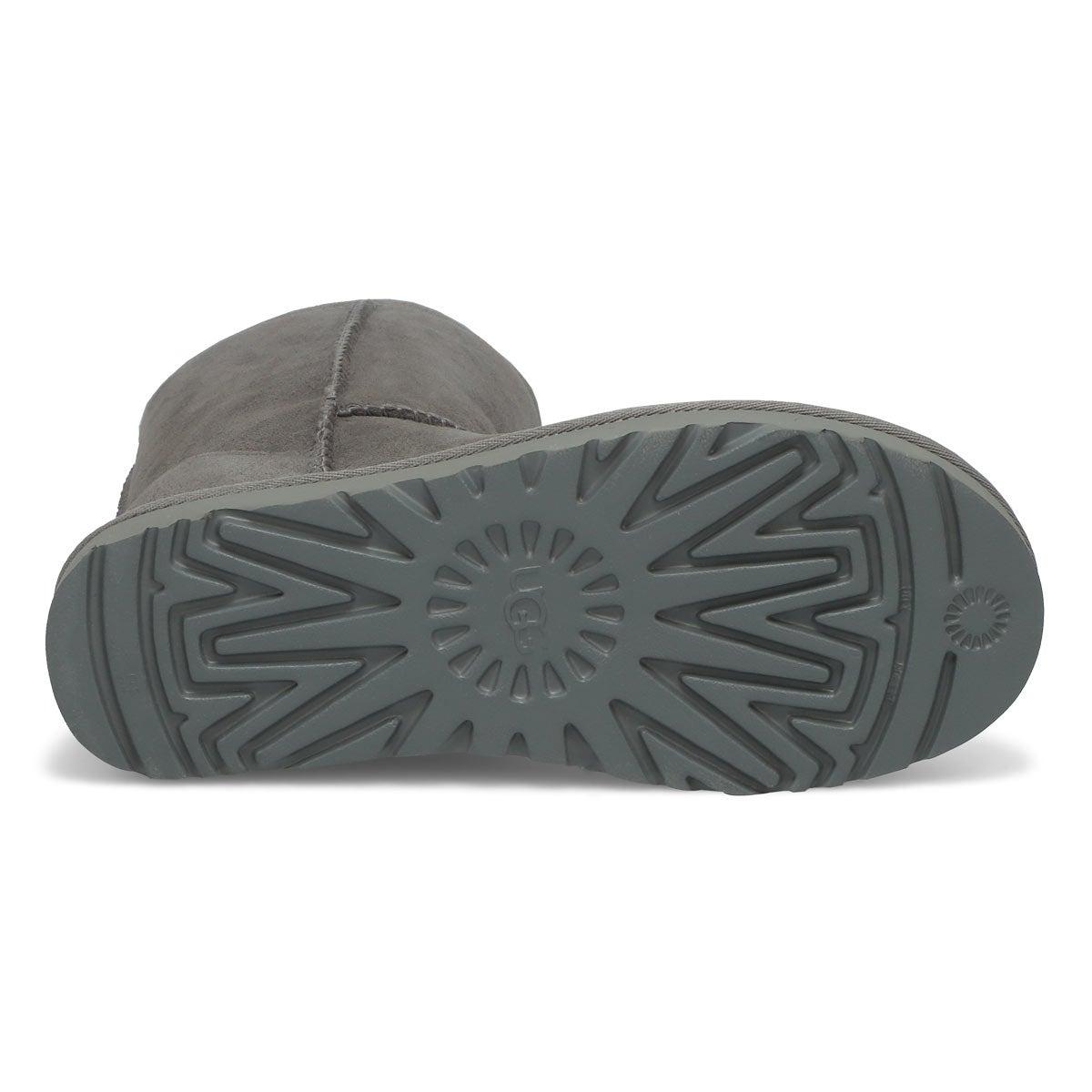Women's Classic Short II Sheepskin Boot - Grey