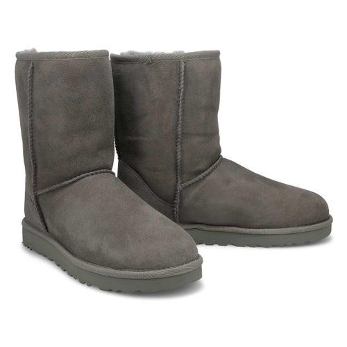 Lds Classic Short II grey sheepskin boot