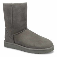 Women's Classic Short II Sheepskin Boot - Grey
