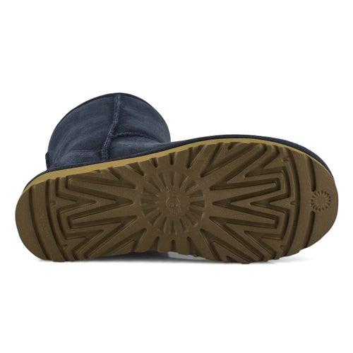 Lds Classic Short II navy sheepskin boot