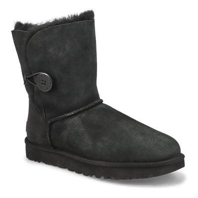 Lds Bailey Button II Sheepskin Boot- Blk