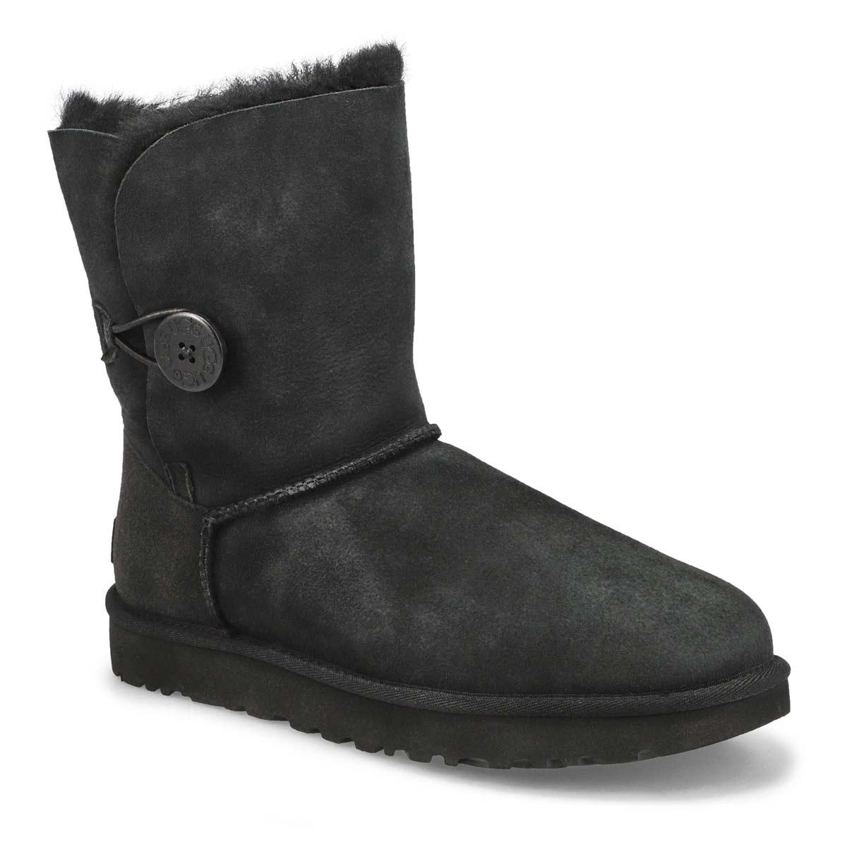 Women's Bailey Button II Sheepskin Boot - Black