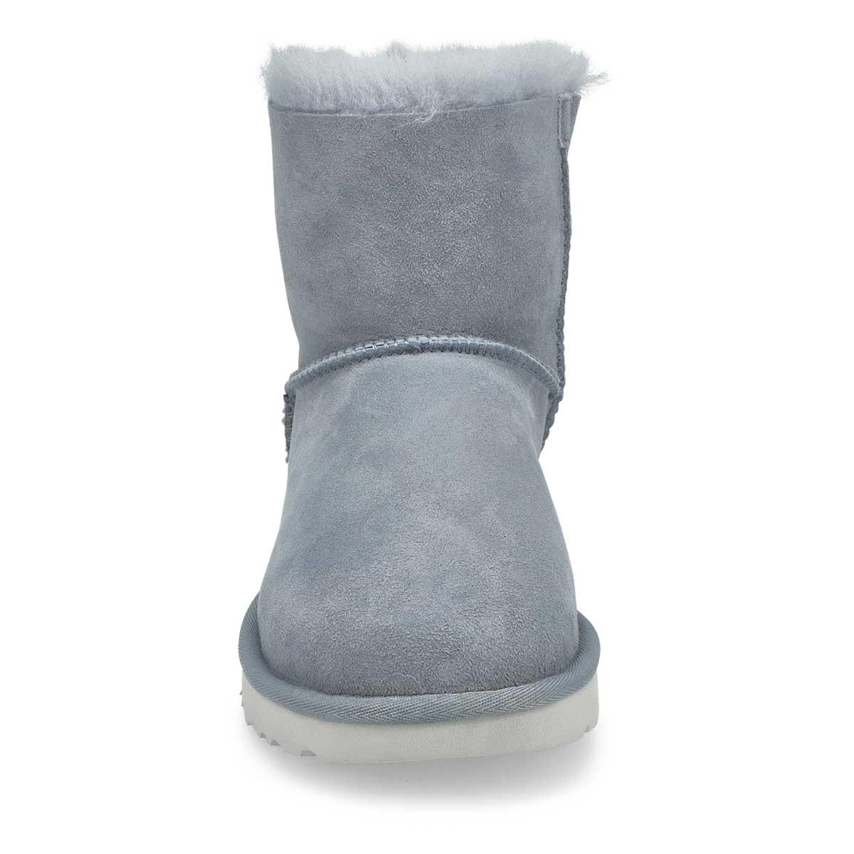 Women's Mini Bailey Bow II Boot- Ash Fog