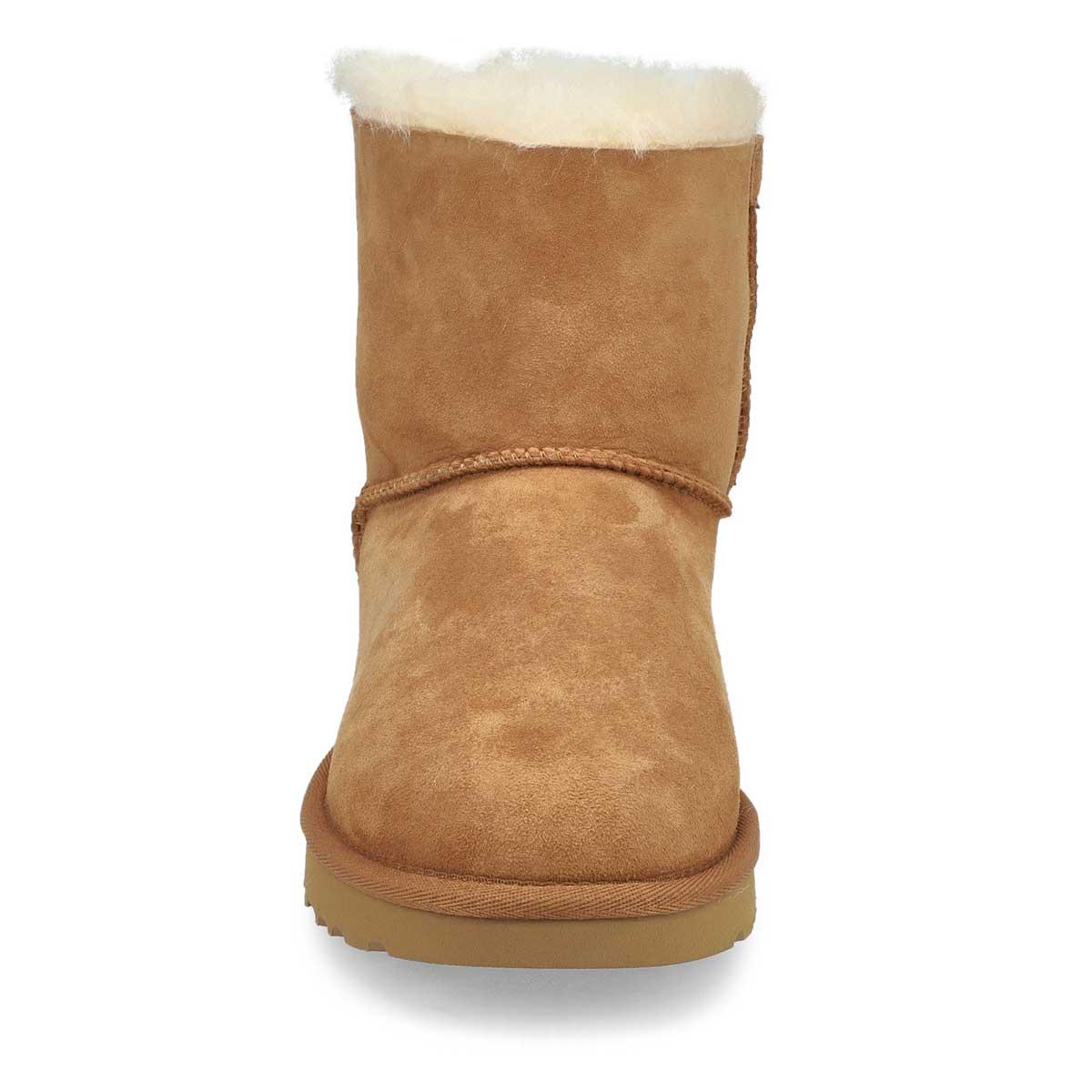 Women's  Mini Bailey Bow II Boot- Chestnut