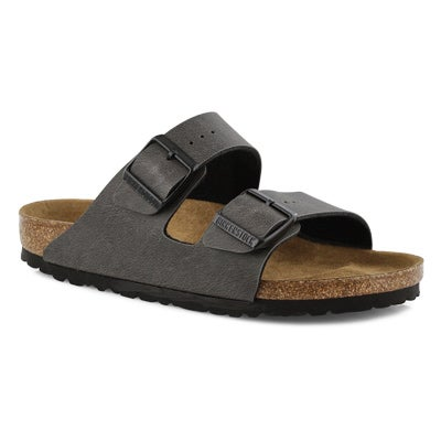Women's ARIZONA VEGAN  anthrcite slide sandals