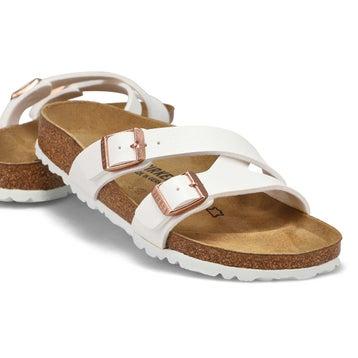 Women's Yao Narrow Sandal - White
